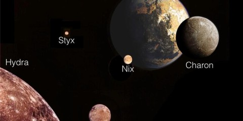The US study should help scientists figure out how Pluto and its entourage of moons formed [AP]